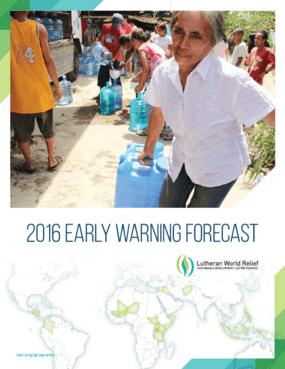 2016 Early Warning Forecast